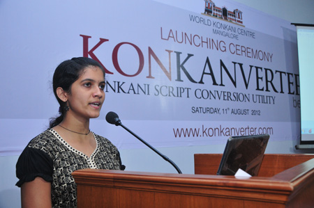 minister speaking konkani