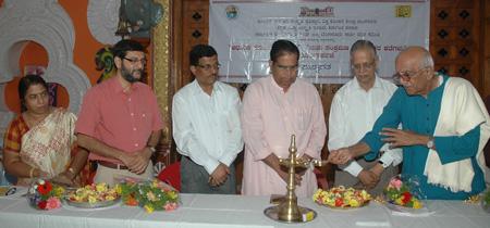 done by Shri Basti Vaman Shenoy, President Worls Konkani Centre