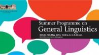 Summer Programme on General Linguistics